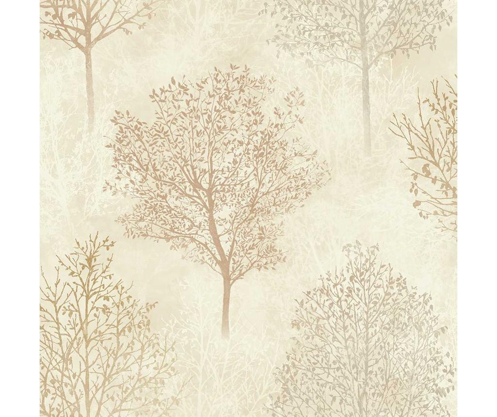 Silva Woods Neutral Rust Tapéta 53x1005 cm