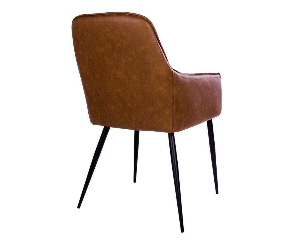 Set 2 stolice Harbo Vintage Brown