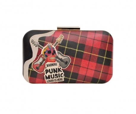 Tσάντα clutch Punk Music Lover