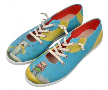 Γυναικεία πάνινα παπούτσια Blonde Rapunzel