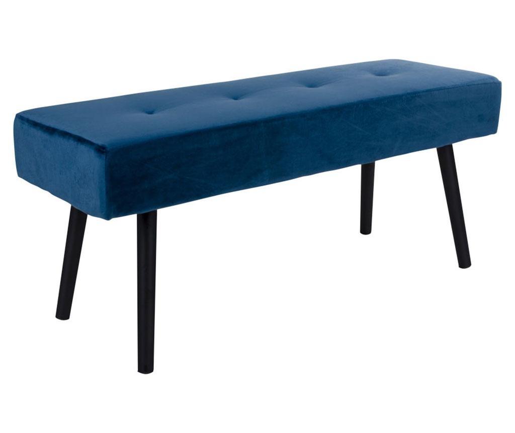 Klupica Skiby Velvet Dark Blue