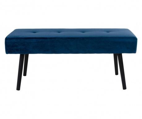 Ταμπουρέ Skiby Velvet Dark Blue