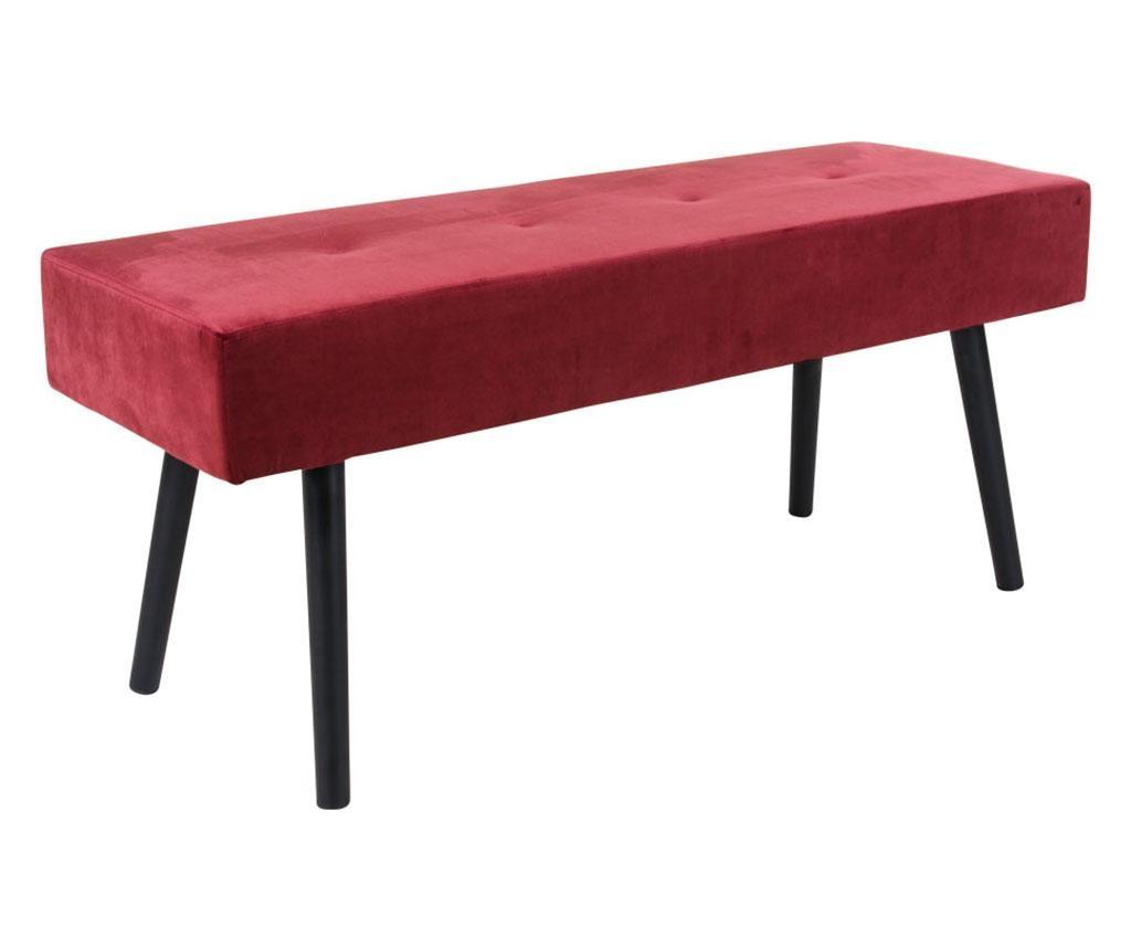 Klupica Skiby Velvet Red
