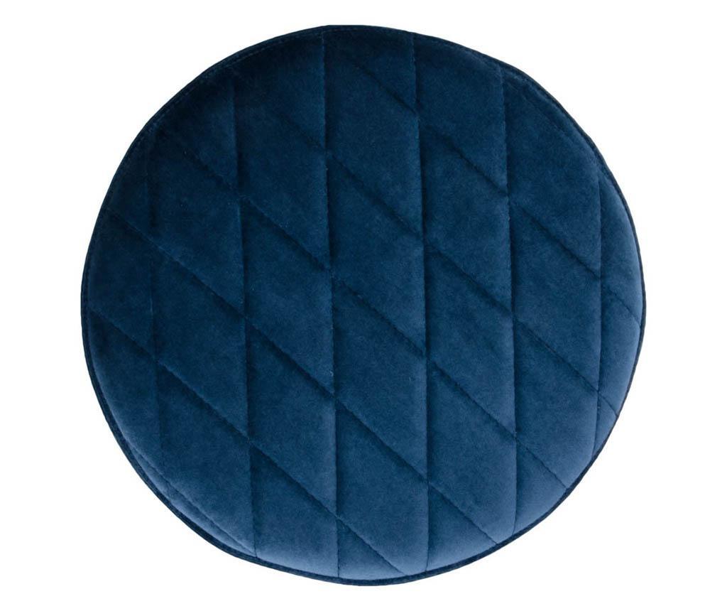 Taburet Ejby Velvet Dark Blue