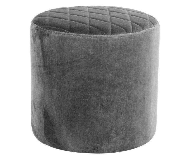 Taburet Ejby Velvet Grey
