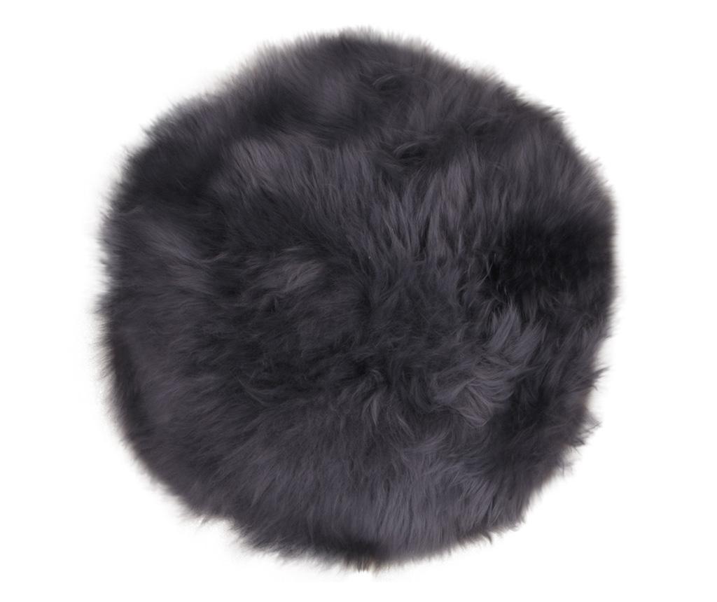 Janjeće krzno Lamb Grey 35 cm