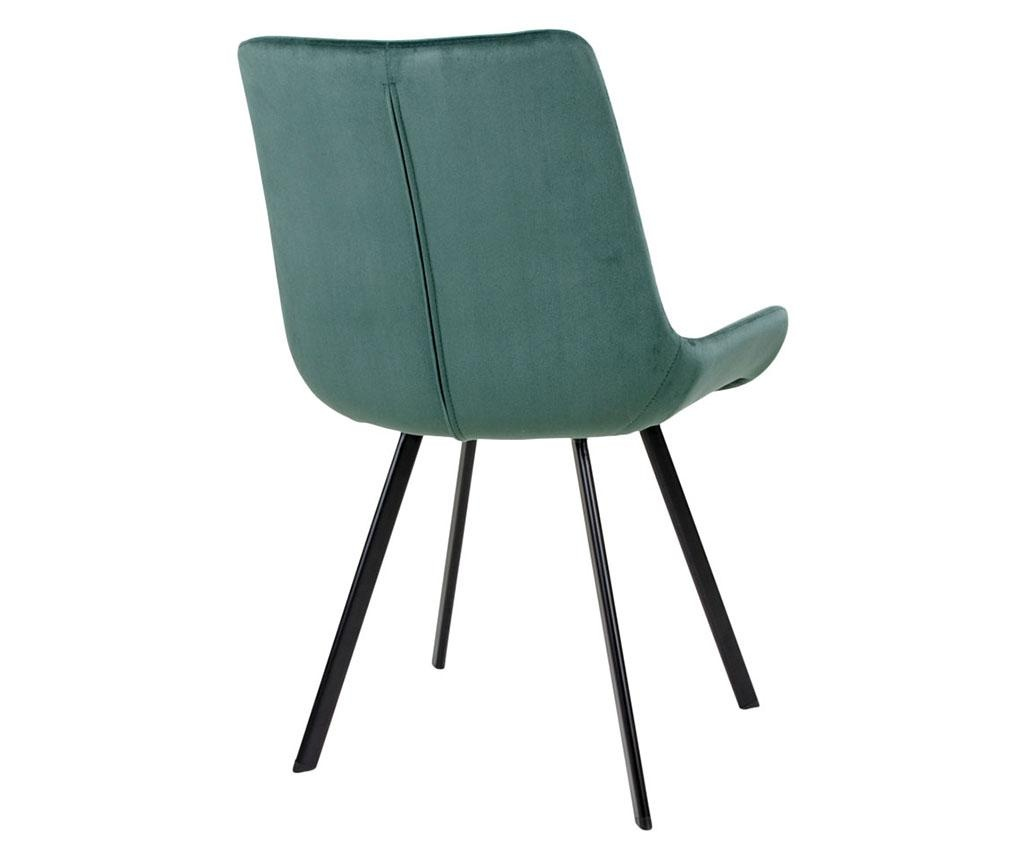 Set 2 scaune Drammen Velvet Green