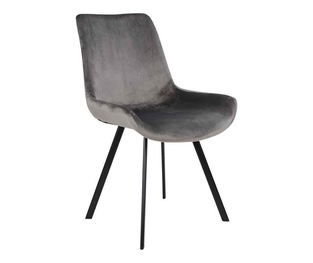 Set 2 scaune Drammen Velvet Grey