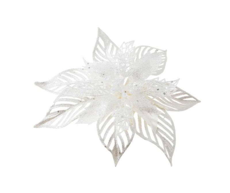 Ukras Poinsettia Grace White