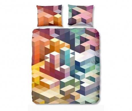 Komplet pościeli Single Ranforce Cubes