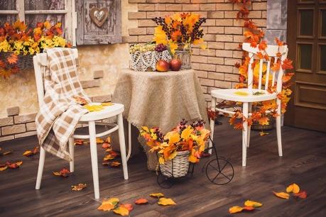 Φθινόπωρο στο μπαλκόνι