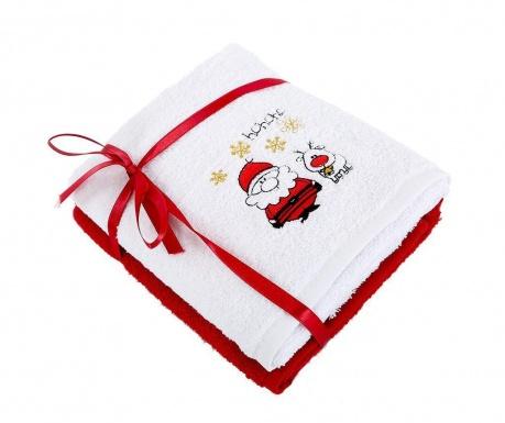 Σετ 2 πετσέτες μπάνιου Tiny 50x90 cm