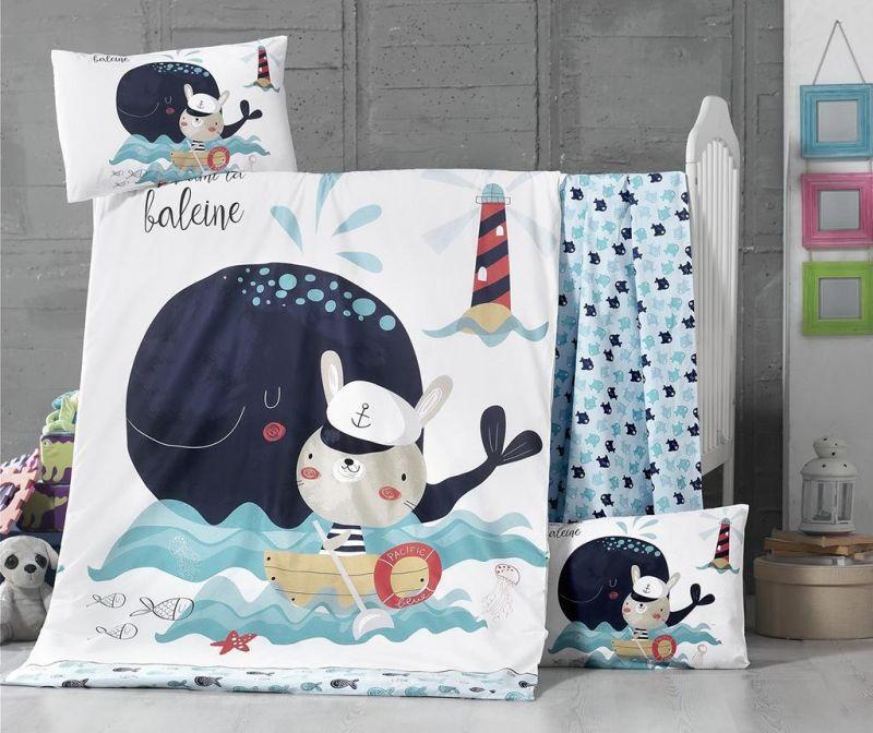 Otroška posteljnina Ranforce Supreme Fisher 100x150