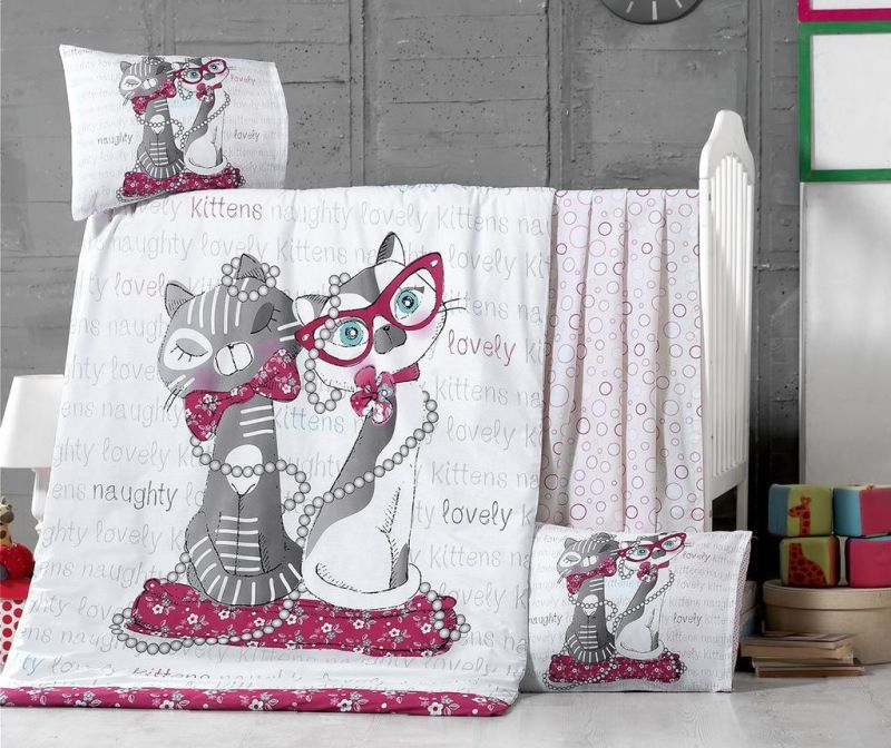 Otroška posteljnina Ranforce Supreme Kittens