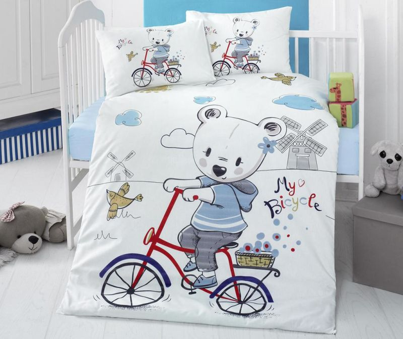 Posteljina za krevetić Ranforce Supreme My Bike
