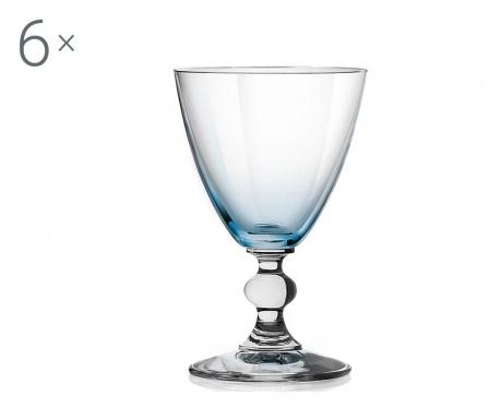 Sada 6 pohárov na víno Splendor Sky 170 ml
