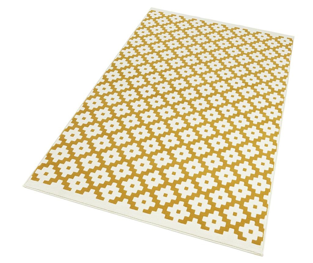 Covor Lattice Gold Cream 120x170 cm