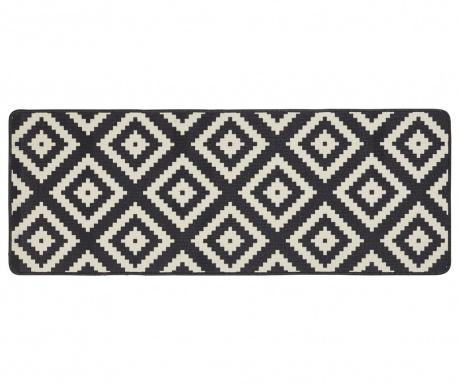 Χαλί Kitchen Black Diamond 67x180 cm