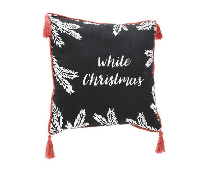 Okrasna blazina White Christmas 45x45 cm