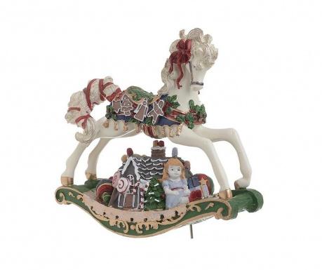 Dekoracja muzyczna Christmas Horse