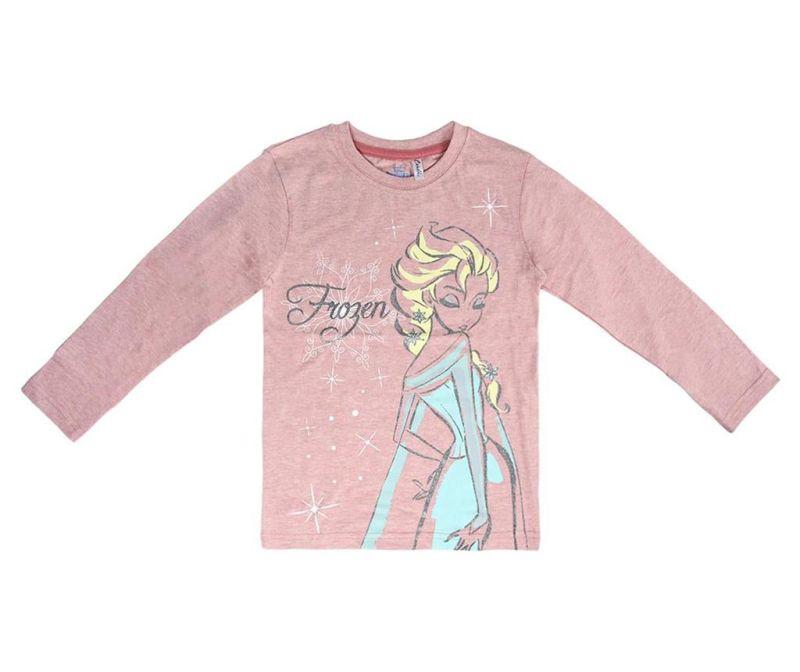 Bluza cu maneca lunga copii Frozen Elsa 7 ani