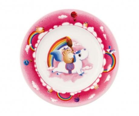 Plytký tanier pre deti Lily