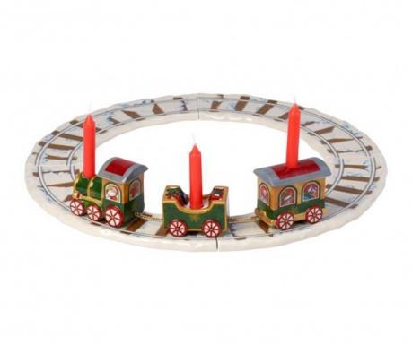 Podstavec na sviečky Train with Rails