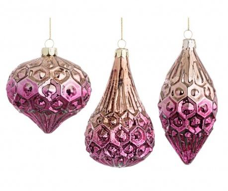Set 6 globuri decorative Edge