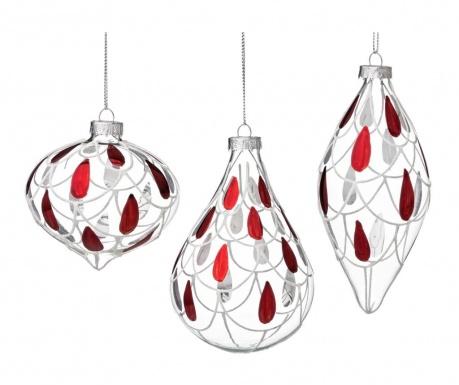 Set 6 globuri decorative Lucrezia