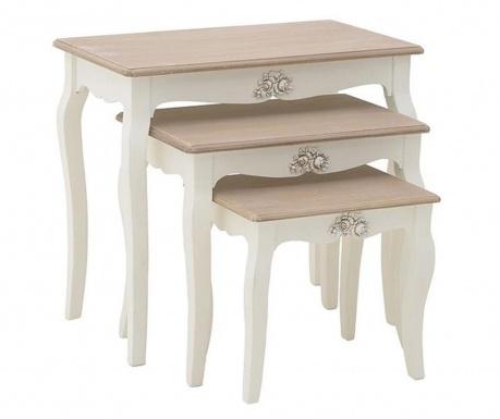 Queeny 3 db Asztalka