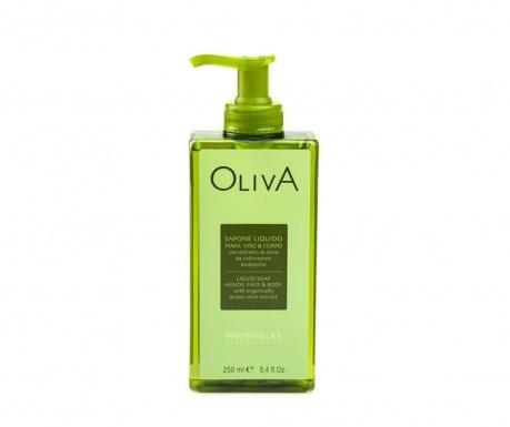 Течен сапун за тяло и лице Oliva 250 мл