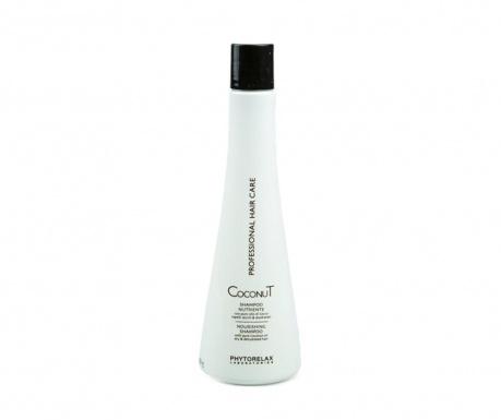 Подхранващ шампоан за увредена коса Coconut 500 мл