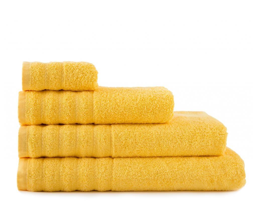 Kopalniška brisača Alexa Yellow 30x50 cm