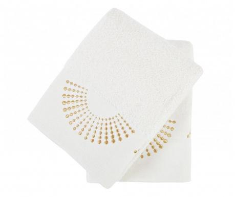 Комплект 2 кърпи за баня Eliza Ecru 50x90 см