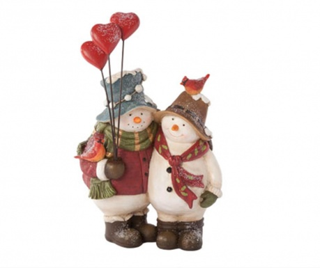 Dekoracija Snowmen Couple