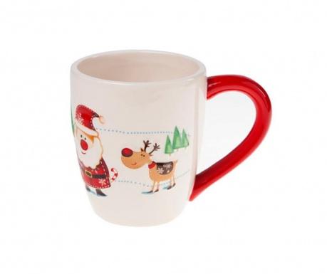 Κούπα Santa & Rudolf 350 ml