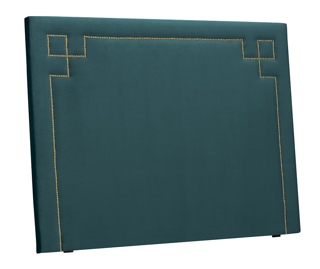 Tablie de pat Nicholas Petrol Gold Pins 120x200 cm