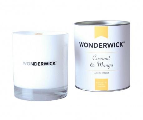 Dišeča sveča Wonderwick Coconut and Mango Blanc