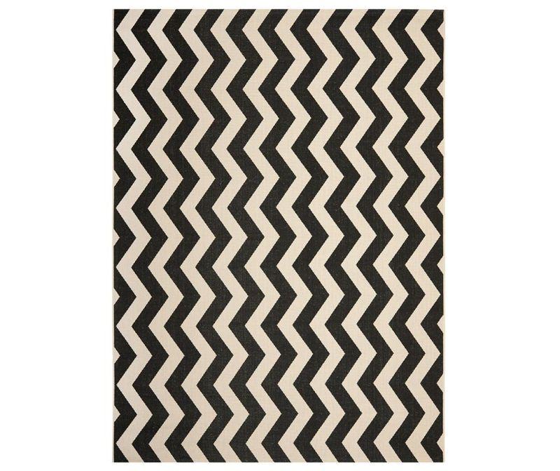 Tepih Amalfi Black Beige 120x180 cm