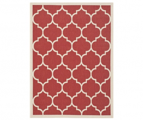 Monaco Red Beige Szőnyeg 78x152 cm