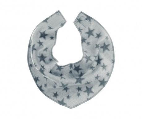 Baveta Stars Grey