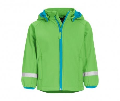 Nepromokavá dětská bunda Warmshell Green 9 r.