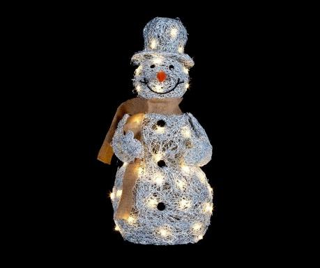 Svetlobna dekoracija Winter Snowman