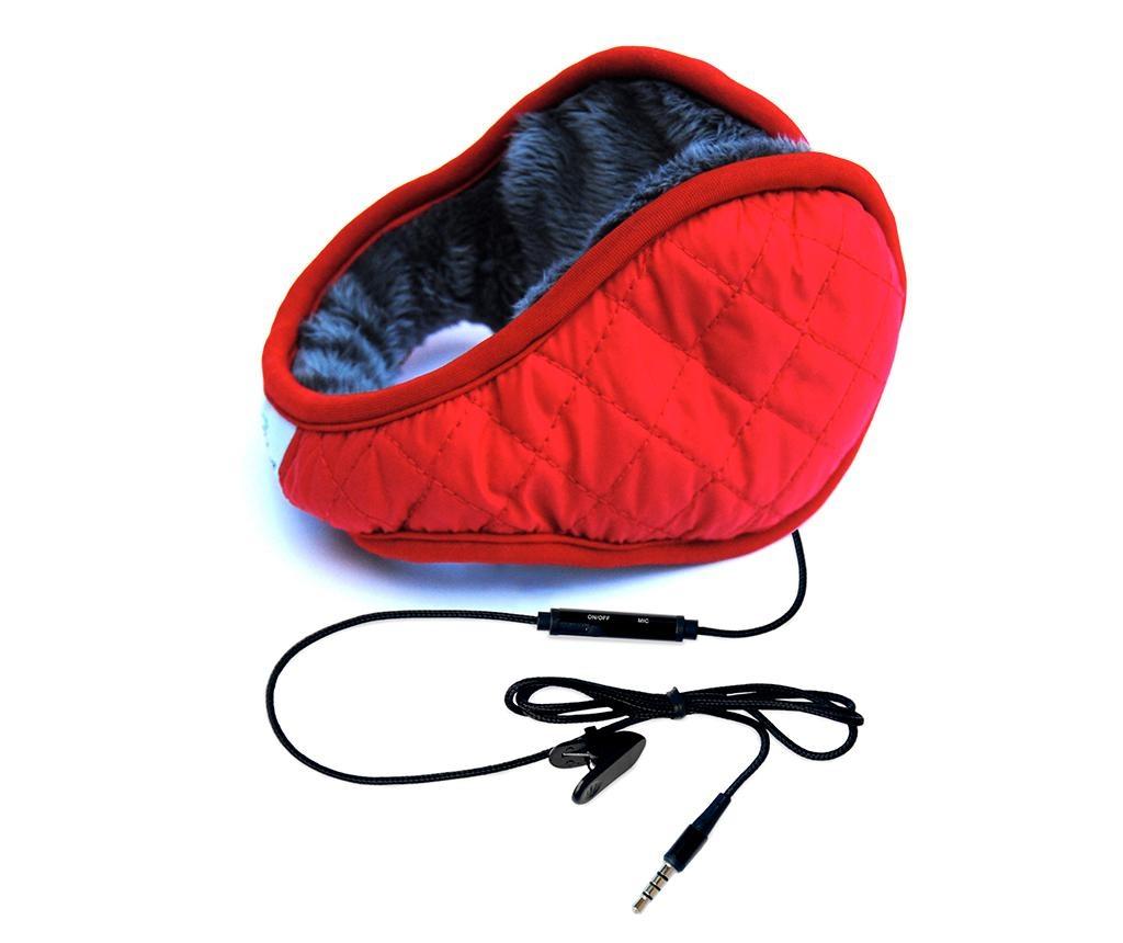 Slušalke hi-Ear Cozy Red
