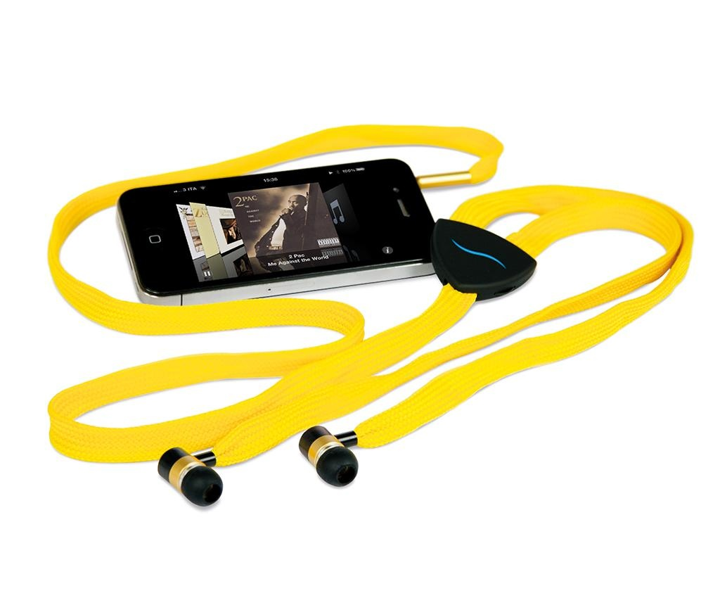 Sluchátka hi-String Yellow