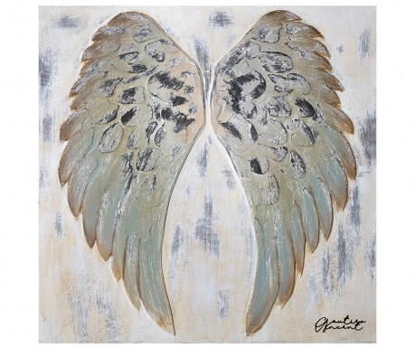 Картина Wings 90x90 см