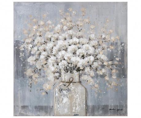 Картина Flowerpot 80x80 см