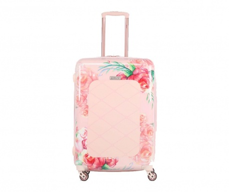 Cestovní kufr na kolečkách Rose Blush 35 L
