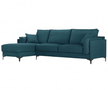 Narożnik lewostronny Desire Turquoise