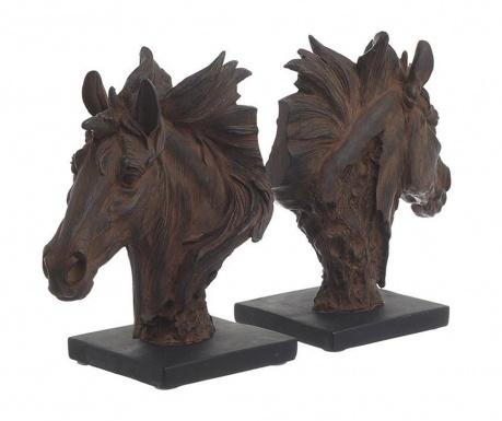 Комплект 2 поставки за книги Horses